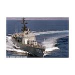 USS ALBERT DAVID Mini Poster Print