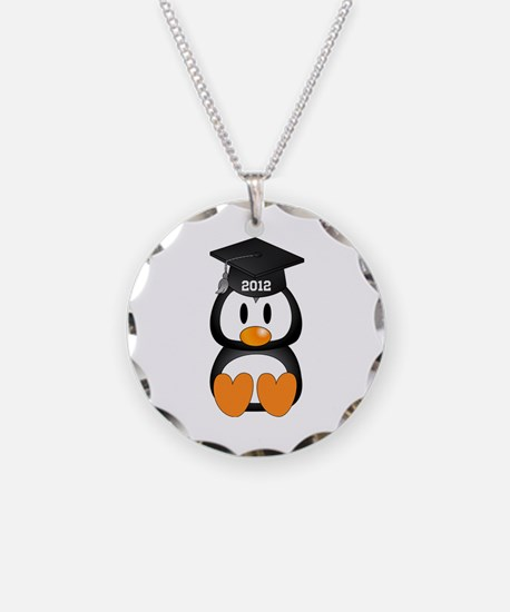 Custom Graduation Penguin Necklace