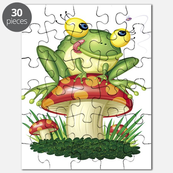 Frog & Toad stool Puzzle