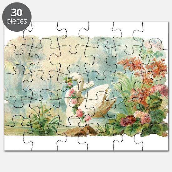 Swan Bird Puzzle