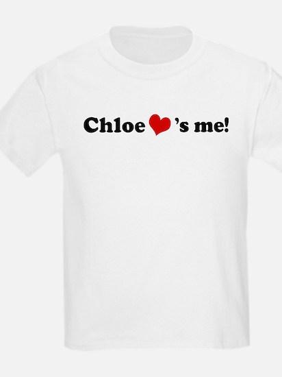 Chloe loves me Kids T-Shirt