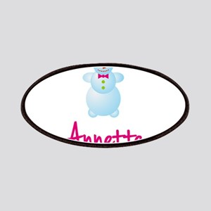 Annette the snow woman Patches