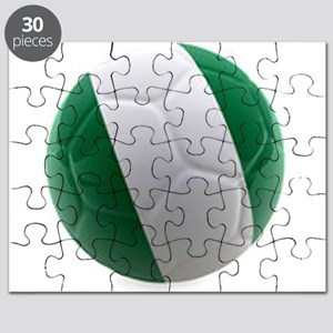 Nigeria World Cup Ball Puzzle
