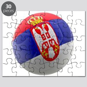 Serbia World Cup Ball Puzzle