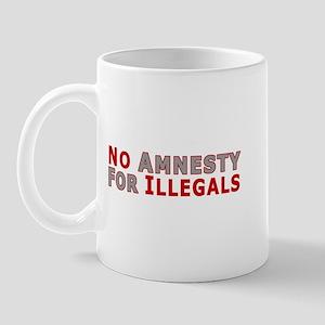 No Amnesty D23 Mug