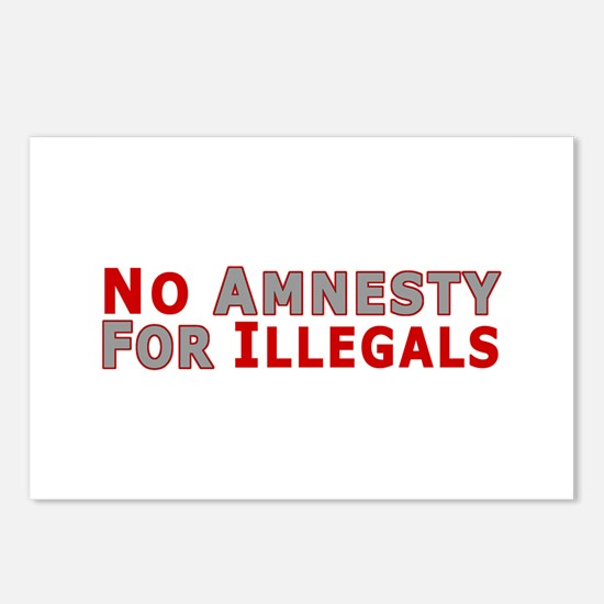 No Amnesty D23 Postcards (Package of 8)