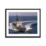 USS ALBERT DAVID Framed Panel Print