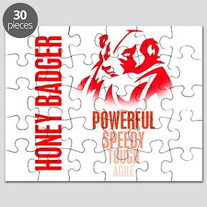 Honey Badger Characteristics Puzzle