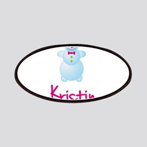 Kristin the snow woman Patches
