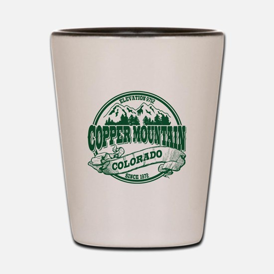 Copper Mountain Old Circle Shot Glass
