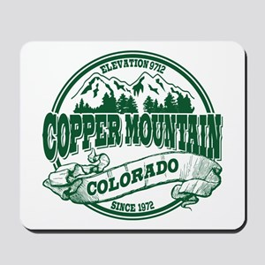 Copper Mountain Old Circle Mousepad