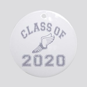 Class of 2020 Track & Field Ornament (Round)