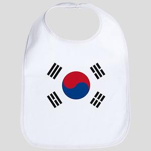 Flag of South Korea Bib