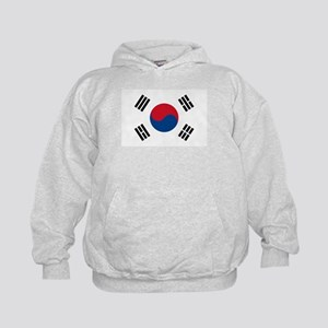Flag of South Korea Kids Hoodie