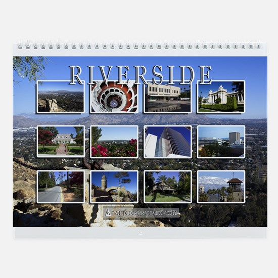 Wall Calendar - Riverside Various (12 images)