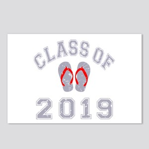 Class Of 2019 Flip Flop Postcards (Package of 8)