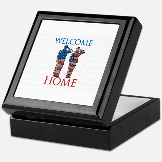 WELCOME HOME Keepsake Box