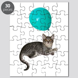Cat with Ballon Puzzle