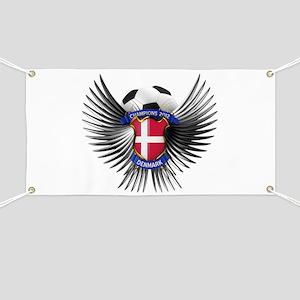 Denmark 2012 Soccer Champions Banner