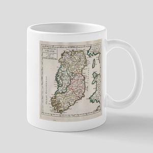 Vintage Map of Ireland (1748) Mugs
