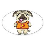 PaGuuu1 Sticker (Oval 10 pk)