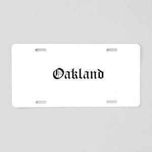 Oakland (www.repoakland.com) Aluminum License Plat