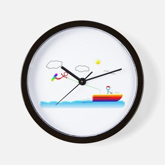 Unique Wakeboard Wall Clock