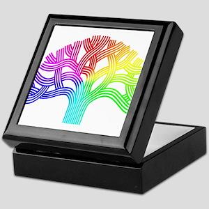 Oakland Tree Rainbow Keepsake Box