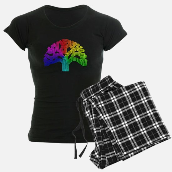 Oakland Tree Rainbow Pajamas
