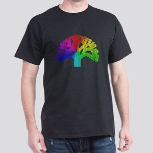 Oakland Tree Rainbow Dark T-Shirt