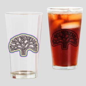 Oakland Tree Rainbow Halo Drinking Glass