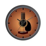 Guitar Wall Clocks