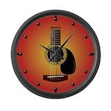 Guitar Giant Clocks