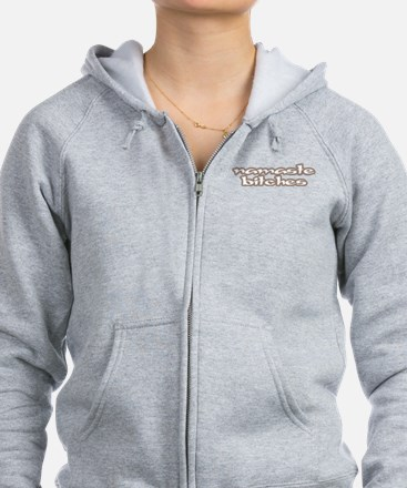 Funny and Witty Zip Hoodie