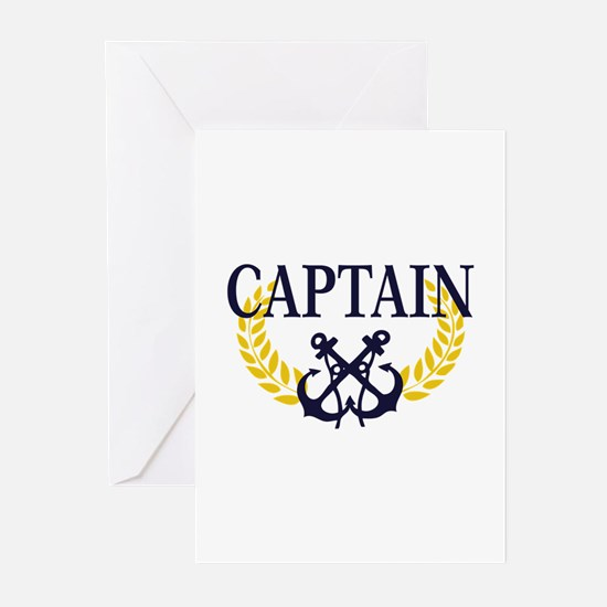 Captain Greeting Cards (Pk of 10)
