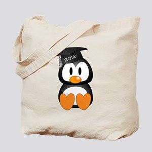 Custom Graduation Penguin Tote Bag