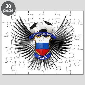 Russia 2012 Soccer Champions Puzzle