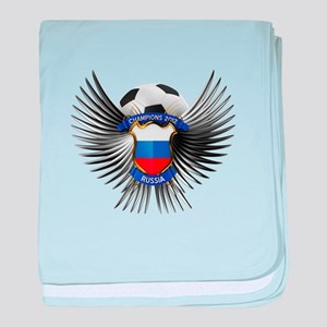 Russia 2012 Soccer Champions baby blanket