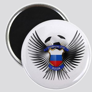 Russia 2012 Soccer Champions Magnet