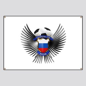 Russia 2012 Soccer Champions Banner