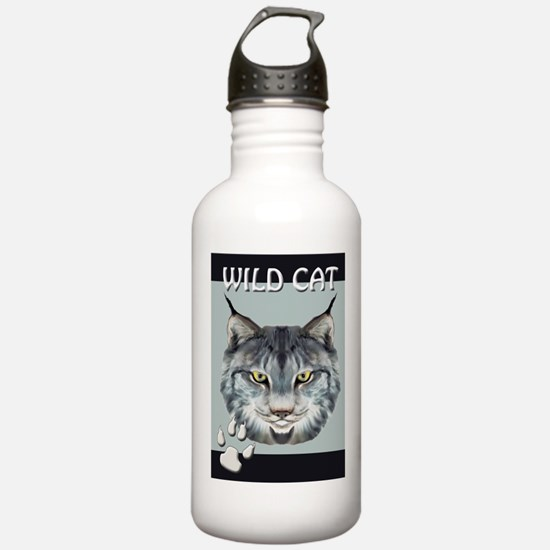 WILD CAT Water Bottle