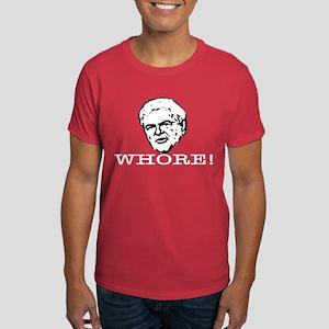 Newt Gingrich: Whore Dark T-Shirt