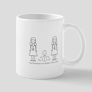 LGBT 2 Mommies Mug