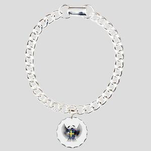 Sweden 2012 Soccer Champions Charm Bracelet, One C
