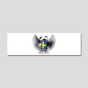 Sweden 2012 Soccer Champions Car Magnet 10 x 3