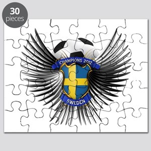 Sweden 2012 Soccer Champions Puzzle