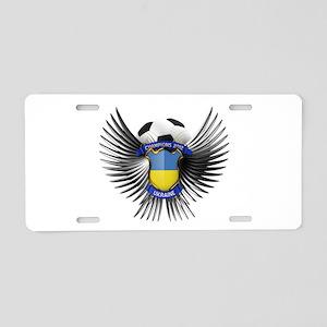 Ukraine 2012 Soccer Champions Aluminum License Pla