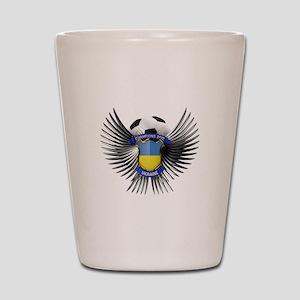 Ukraine 2012 Soccer Champions Shot Glass