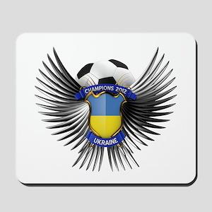 Ukraine 2012 Soccer Champions Mousepad