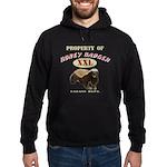 Property of Honey Badger Hoodie (dark)